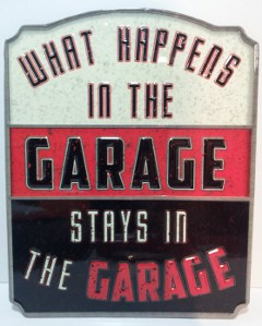 man cave garage sign
