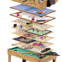 man cave table games