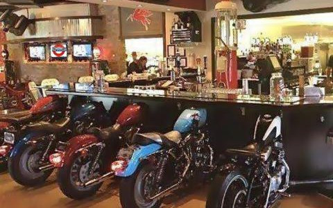 motorcycle man cave ideas