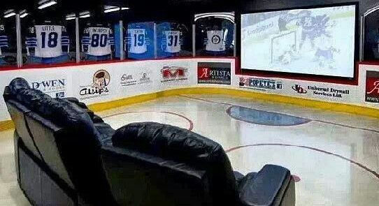 Hockey Man Cave