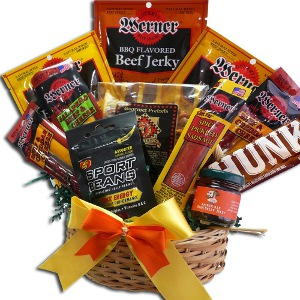 man cave gifts basket
