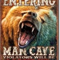 Man Cave Stuff Poster