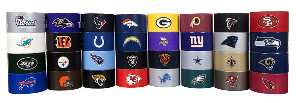 NFL Football Duct Tape
