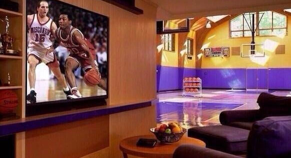 Basket Ball Man Cave