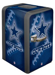 nfl football man cave fridge