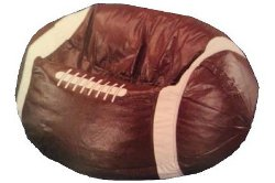 Football Man Cave Beanbag Chair