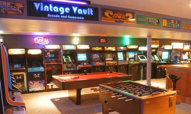 sports garage themed ideas - How to Shop for Man Cave Decor When Designing Your Manly